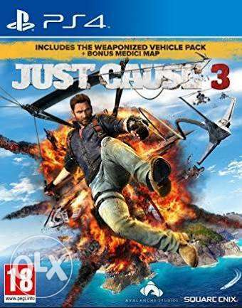 Just Cause 3 PS4 for sale or topup swap Kampala - image 1