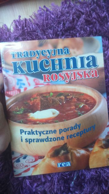 Nowa Książka Tradycyjna Kuchnia Rosyjska Wyd Rea