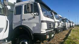 Mercedes Powerstar 18 Cube Tippers For Sale