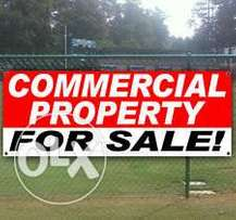 Commercial plot for sale in makutano meru