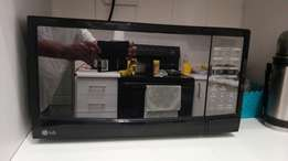 Lg microwave with grill