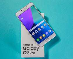 New, Samsung Galaxy C9 Pro with 6GB RAM.