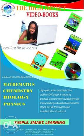 High Impact Maths Video-Books Nairobi CBD - image 3