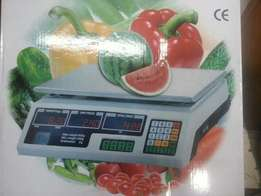 flat weighing scale