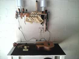 Guitar repair and setup services offered
