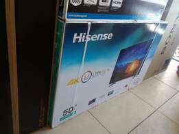 4K Smart LED Internet TV:Hisense 50 Inches Brand New at Shop