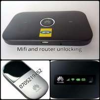 Modem and Mifi unlocking