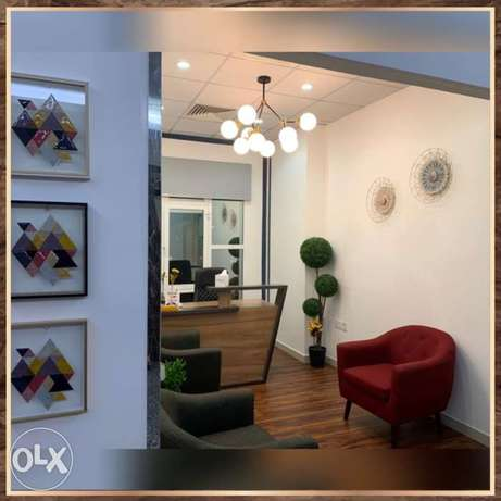 Fully furnished offices - Ocean Business Centre الخوير -  2
