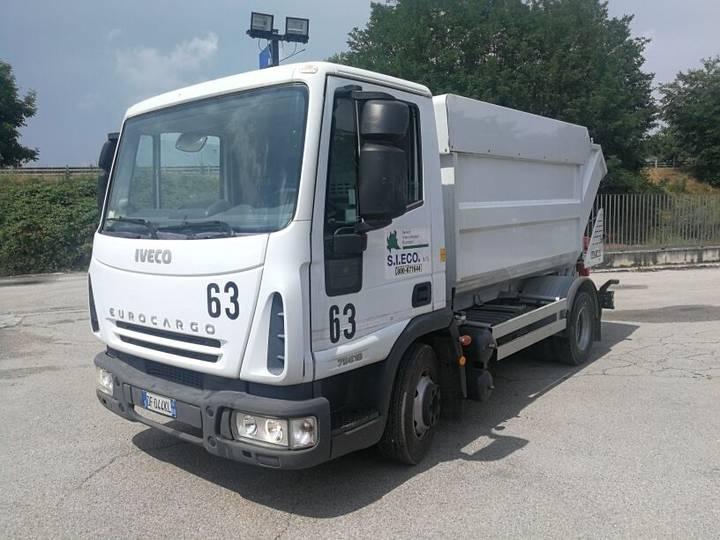 Iveco 75E18P  RSU VASCA RIBALTABILE 10 MC+COMPATTATORE - 2006