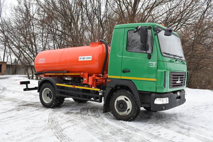 Maz new at vo 0101 na shassi  4371n2 vacuum truck - 2019