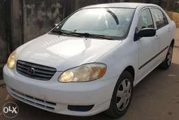 Foreign Used Toyota Corolla 2003 Ce