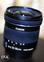 Brand new Canon 10-18mm 4:5 wide angle lens