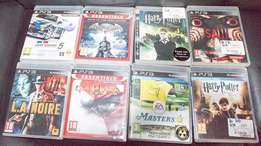 8 PS3 Games for sale make me an offer