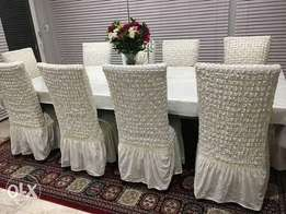Single dinning seat covers