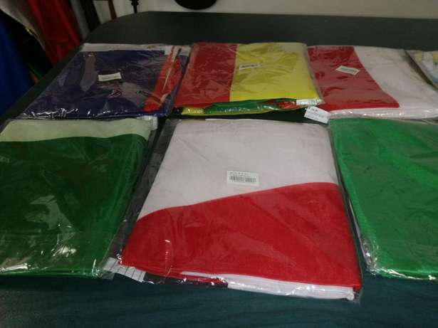 Flags for sale.New.R30 each.They are available from our costume store. Randburg - image 2