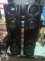 Lg body guard home theatre sound system.