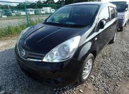 Nissan note black in color brand new car