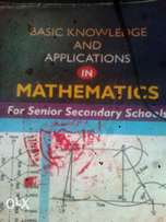 A 444 Pages SSCE Maths Textbook For Outright Sale