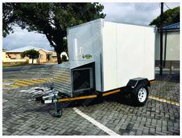 Cooler / Freezer Trailer to transport perishables