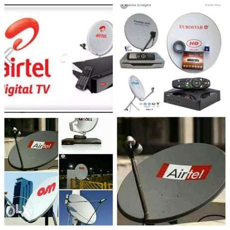 Satellite tv receivers service