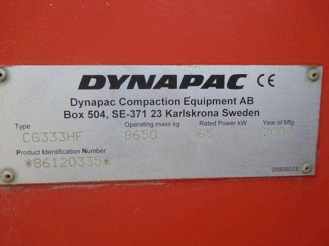 Dynapac CG333HF - 2007 - image 13