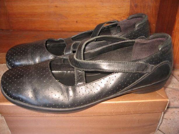 Ecco - кожаные босоножки туфли балетки мокасины экко Мариуполь -  изображение 1 6ac34bf204088