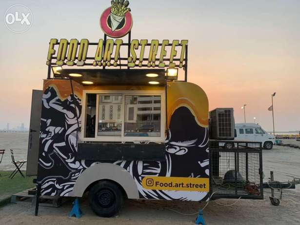 food truck for sell registered running business