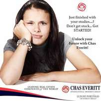 Internship at Chas Everitt as a real estate agent