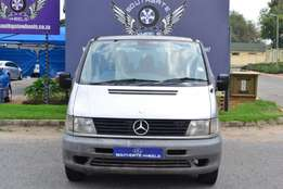 2003 Mercedes Benz Vito 112 CDI crewbus in good condition