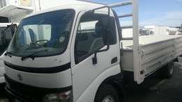 Toyota Dyna rigit Drop side single diff 2007 truck for sale