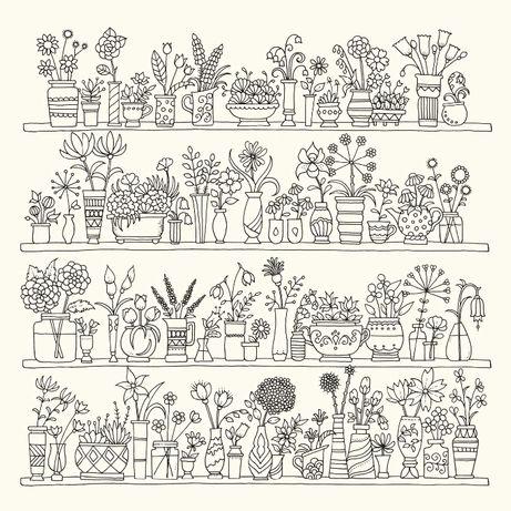 World Of Flowers Basford Kolorowanka Dla Dorosłych Pszów Olxpl
