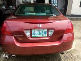 Neatly used 2007 Honda Accord with V6 engine. Clean and sharp