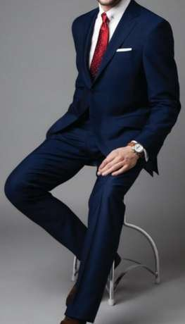 Navy blue Male suits Collection. Imported from Turkey. Free delivery Nairobi CBD - image 1