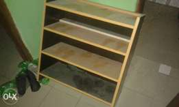 Treated Wooden shoe rack