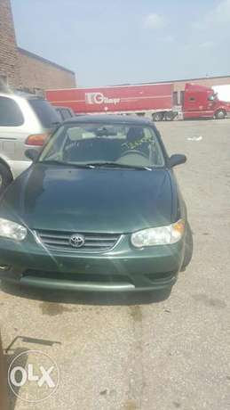 Toyota Corolla LE 2002 Model Very Clean And Attractive Perfectly Drive Ikeja - image 1