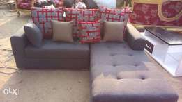 Grey Sectional Sofa Chairs 5 Seater.