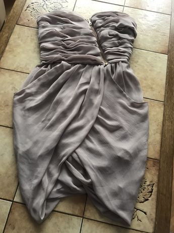 0afb56d15d Śliczna Sukienka bik bok M 36 38 (wesele