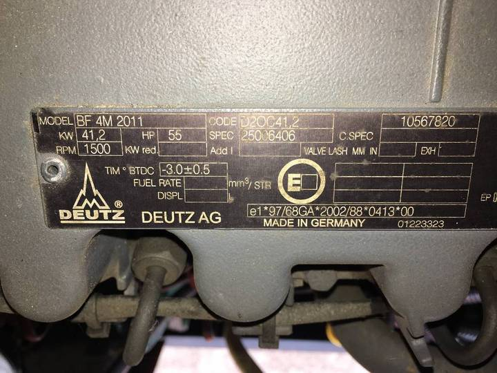 Mase MPL 44 S - Deutz - No Alternator - DPX-11927 - 2008 - image 10