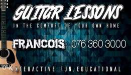 Guitar Lessons in Alberton and surrounding areas