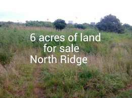 6 acres of land for sale at North Ridge