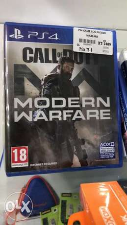 Modern Warfare Ps4 Game New Sealed