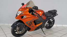 2008 Suzuki hayabusa burnt orange colour