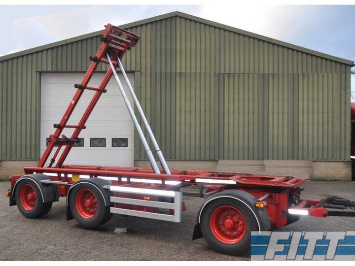 NCH HTS  3ass kippend container chassis ahw - 2017