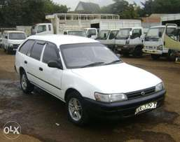 toyota corolla dx 102 on quick sale