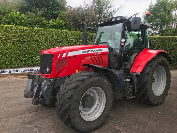 Massey Ferguson 6480 T-iii 50kph, Air Brakes, F/links & Creep - 2019