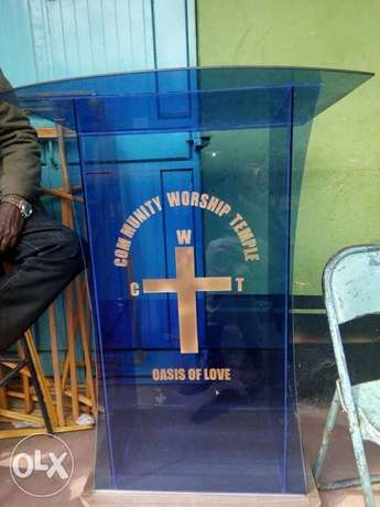 We build/design church pulpits and all types of glass works Kariobangi North - image 1