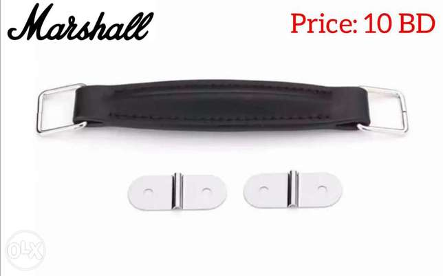 New Guitar Amplifier Leather Handle With Fitting For Marshall Amp.