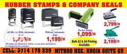 Rubber Stamps And Company Seals In Nairobi