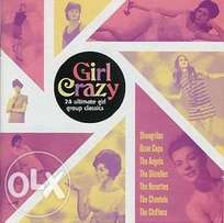 Girl Crazy cd 28 Ultimate girl group classics .
