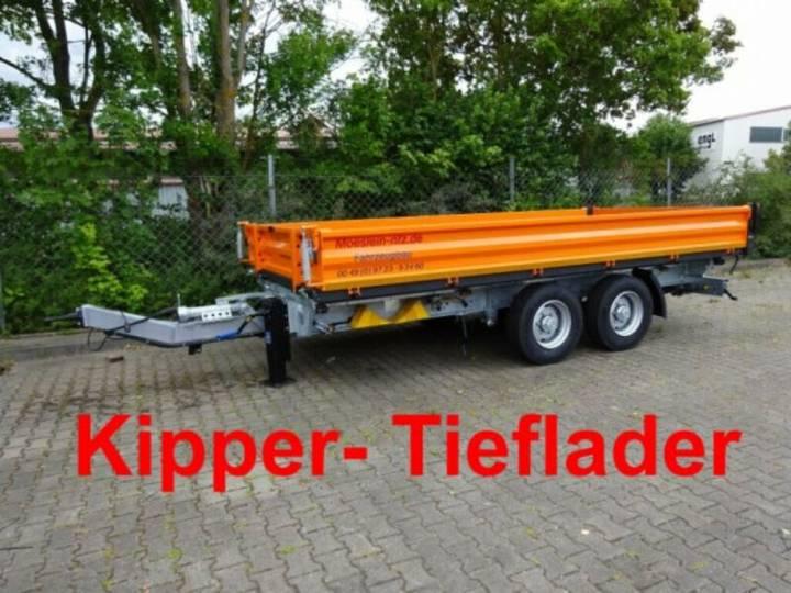 Möslein TTD 13 Orange 13 t Tandem 3- Seitenkipper Tiefla - 2019